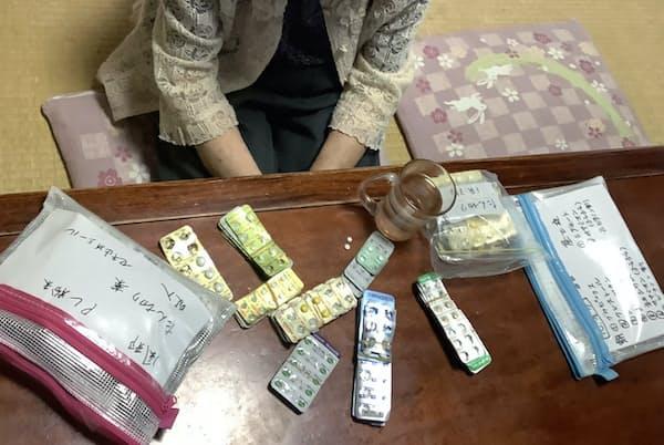 高齢になると自然に薬が増える(都内に住む90歳の女性)