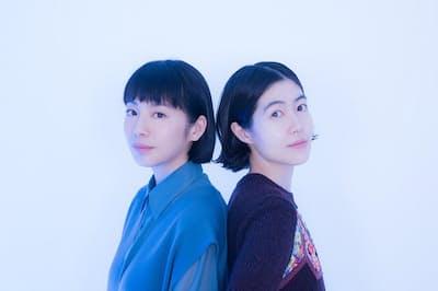 夏帆さん(左)とシム・ウンギョンさん