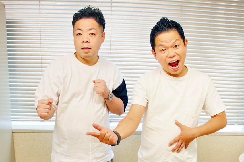 ダイアン 左/ユースケ 1977年3月14日生まれ、滋賀県出身。右/津田篤宏、76年5月27日生まれ、滋賀県出身。吉本興業所属