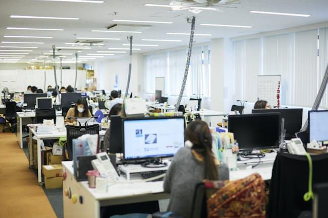 タニタは独自の「働き方改革」に取り組む(東京・板橋のタニタ本社)