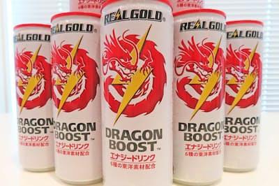 「リアルゴールド ドラゴンブースト」(250ミリリットル缶、税別185円)