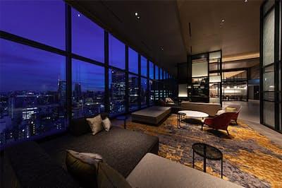 2019年8月にオープンした「ザ ブラッサム 日比谷」は、宿泊特化型ホテルながら、シティーホテル並みの上質感が売り