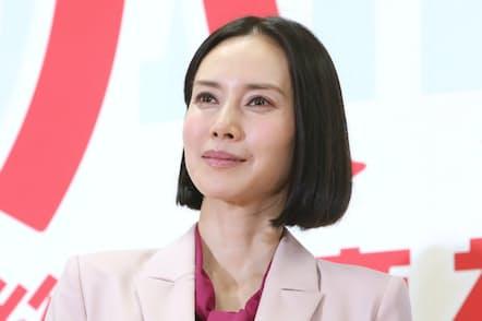 中谷美紀さんは「ハル ~総合商社の女~」で主役を演じる