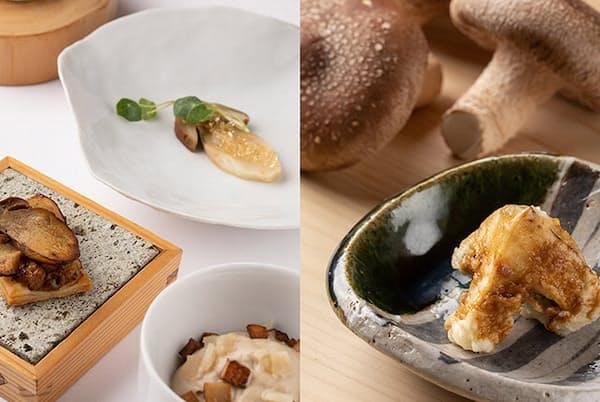 「セップ茸尽くし」や「玉取茸」など、深まる秋に楽しみたい絶品キノコ料理を紹介(NikkeiLUXEより)