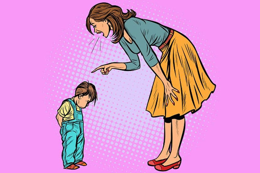 親に怒られて泣いている子を見かけたらどうする?(イラストはイメージ=PIXTA)