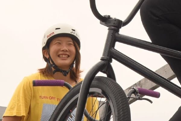 「BMXフリースタイル・パーク」で金メダルの有力候補となっている大池水杜選手