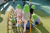 10月から幼保無償化が始まった(都内のこども園)