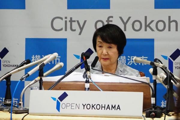 横浜市の林文子市長は8月、カジノを含む統合型リゾート(IR)の誘致を正式表明した