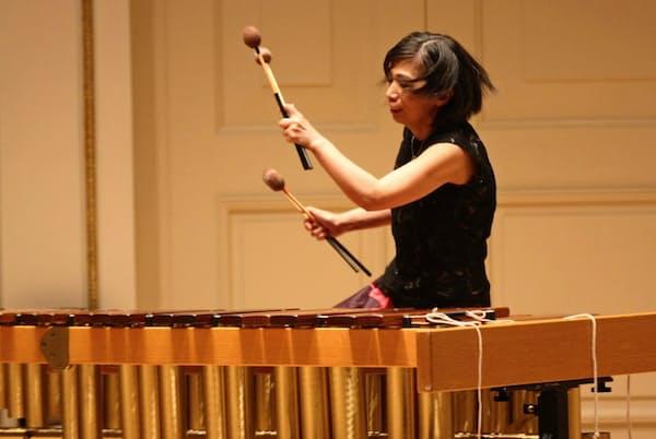 米カーネギーホールで演奏するミカ・ストルツマン(C)Hiroyuki Ito