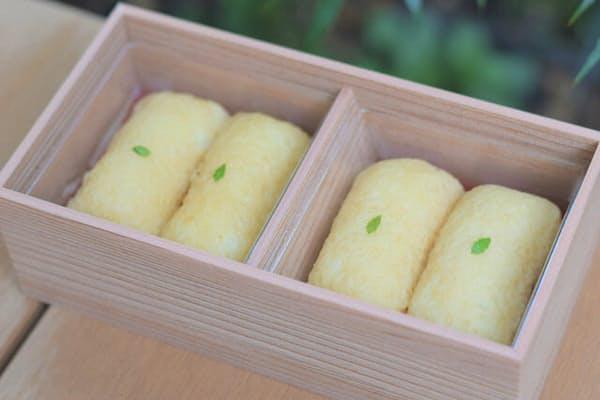福岡の人気店が東京に初進出。「だしいなり海木」の「だしいなり」(4個入り)