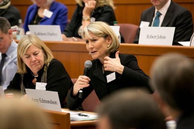 ハーバードビジネススクールのエイミー・エドモンドソン教授 (c)Evgenia Eliseeva for Harvard Business School