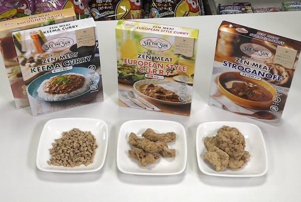 森永製菓の社内ベンチャーから立ち上がった孫会社が手掛ける代替肉を使ったレトルト食品