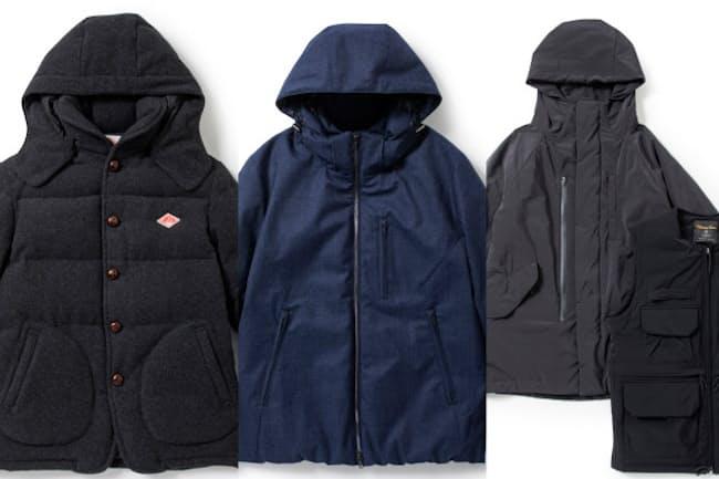 ビジネスでも違和感なく着られる、すっきりしたデザインのダウンジャケット3製品を紹介する