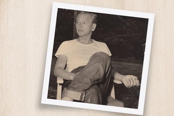 英国紳士道を身につけた白洲次郎氏は、日本で初めてジーンズをはいた男ともいわれる 撮影:濱谷 浩 =武相荘提供
