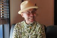 「孤独のグルメ」の原作者で、音楽も手掛ける久住昌之氏