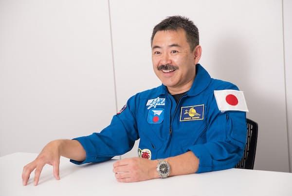 2020年、3度目の宇宙飛行を予定している宇宙飛行士の星出彰彦さん(写真 厚地健太郎)