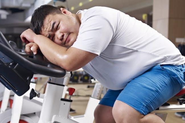 内臓脂肪を落とし、ポッコリと出たおなかを凹ませるには、どのような運動をすればいいだろうか。写真はイメージ=(c)imtmphoto-123RF