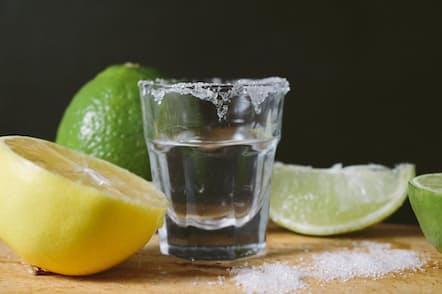 テキーラと塩とフルーツの組み合わせは至極