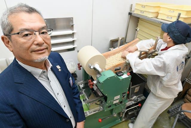 「『ゆで太郎』は低価格業態ながら、全店に製麺機を設置し、いつでも打ち立ての新鮮なそばが食べられます」と池田智昭社長
