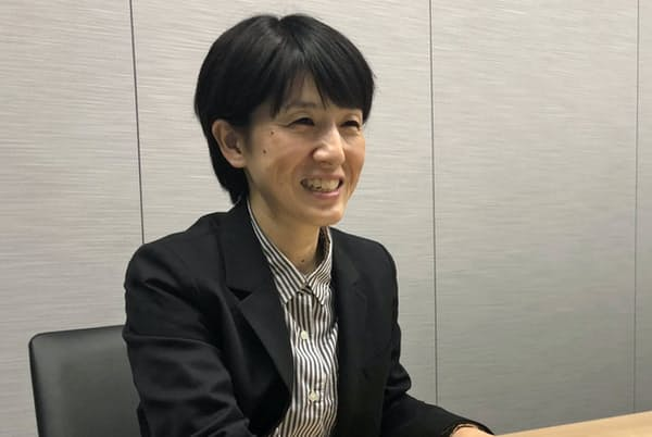 国分グループ本社の古城尚子さん