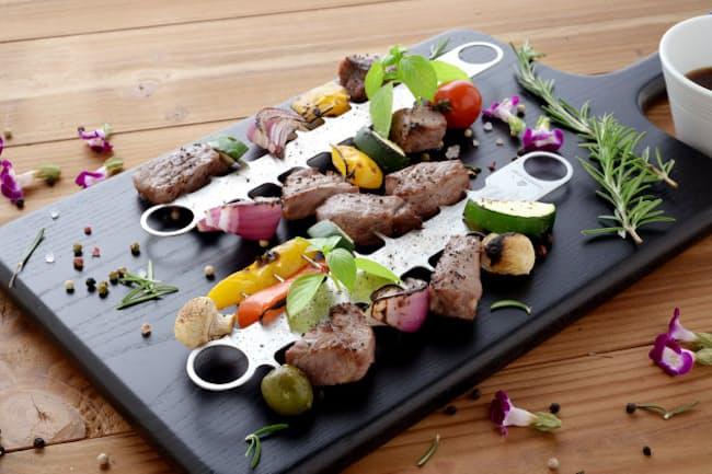 食べやすく、料理が華やかになる進化系焼き串。これがあればテーブルに視線が集まることまちがいなし