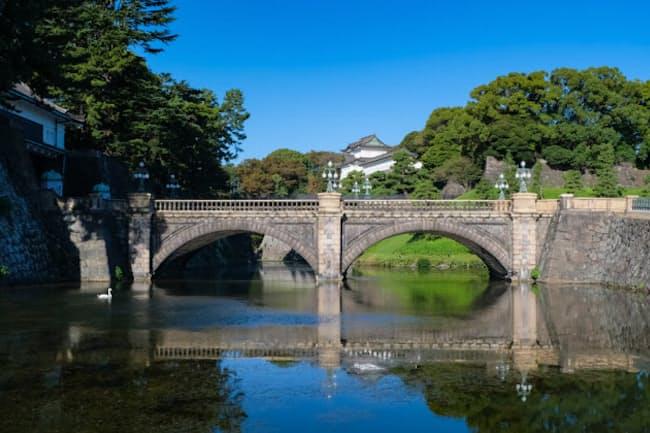 激動の昭和期には皇居もしばしば歴史の舞台となった