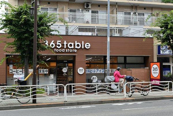365tableにはミニストップの文字は見当たらない(東京都江東区)