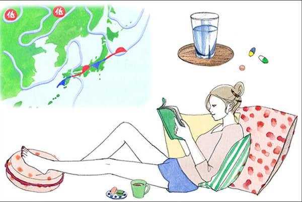 樋口一葉も悩まされていたという、女性に多い「気象病」の原因と対策を紹介(NikkeiLUXEより)