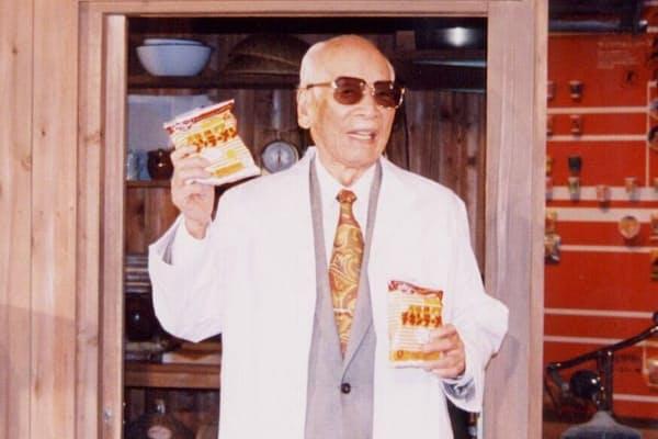 日清食品創業者、安藤百福氏