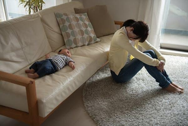 既婚で子どもがいても「ひきこもり」になる女性は多い(写真はイメージ=PIXTA)