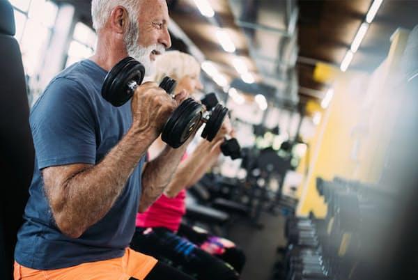 運動経験のない高齢者は、若いころから運動をしてきた高齢者よりも筋肉がつきにくい?写真はイメージ=(C)nd3000-123RF