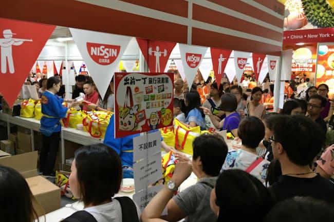 香港では日清食品のインスタントめんが独特の食文化をつくった