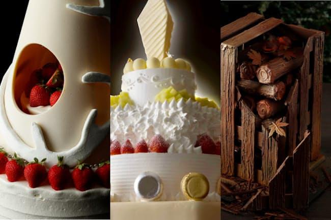 価格は高いが予約で完売したものもあるというホテルのクリスマスケーキ。パレスホテル東京、ホテルニューオータニ東京、ウェスティンホテル東京のクリスマスケーキを紹介する
