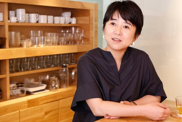 スープストックトーキョーの数多くのメニューを開発してきた桑折敦子さん