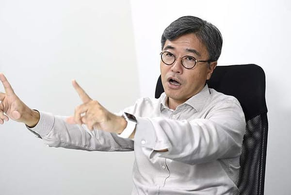 「日本でイノベーションが起こらないのは、企業の収益が悪化していることが大きな要因だ」と指摘。「余裕がない中で決められた予算を達成しようとすると、新しいことに挑戦する余裕がない」という