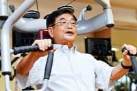 今も体を鍛えるのが趣味という斎藤敏一ルネサンス会長