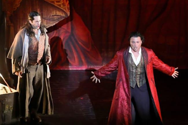 英国ロイヤル・オペラ「ファウスト」=長谷川 清徳撮影