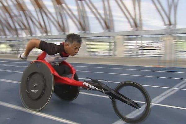 東京パラリンピックの金メダルを狙う伊藤智也選手