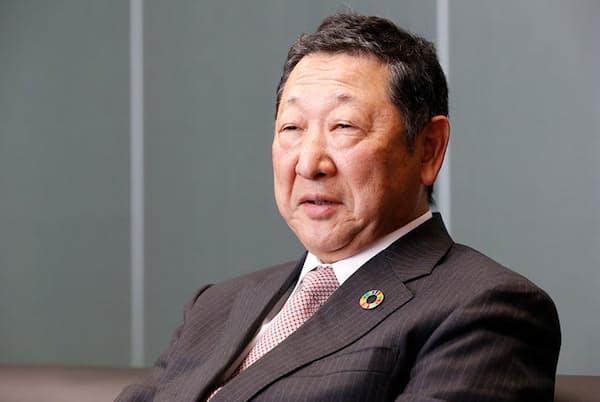 西武ホールディングスの後藤高志社長(村田 わかな)