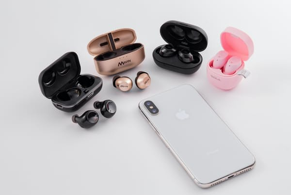 携帯性に優れたケースの小さな完全無線イヤホンを紹介する。小型ながら実力派の4機種がそろった