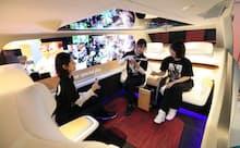 自動車は完全自動運転が実現すると内装も変わる(パナソニックが2019年10月の東京モーターショーで発表した自動運転車「スペース・エル」)