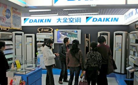ダイキンの中国の店舗