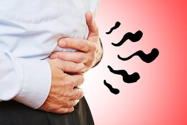 ノロウイルスなどのウイルス性胃腸炎に典型的に見られる3症状とその経過の典型例を知っておこう。写真はイメージ=(c) stylephotographs-123RF