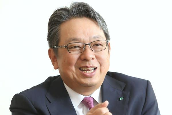 JTの寺畠正道社長