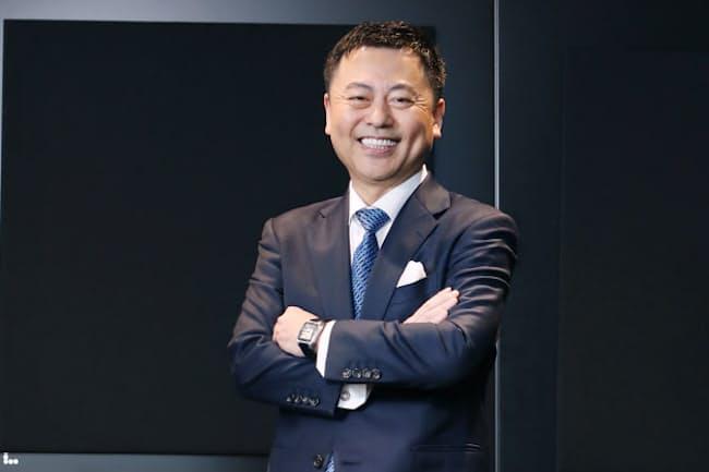 東京個別指導学院の齋藤勝己社長はよく通る声と自然な笑顔にも磨きをかけ続ける