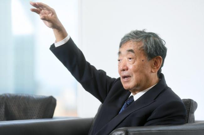 松本晃氏は、伊藤忠商事の新人時代に「営業は天職だと気付いた」と話す