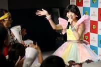 80年代楽曲のカバーでソロデビューした東京女子流の新井ひとみ(東京都渋谷区)