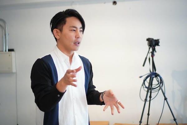 MotionGallery代表の大高健志氏
