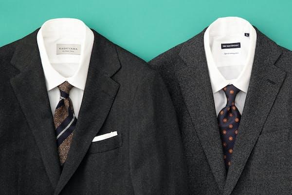 大手の紳士服メーカーが手掛けるオーダースーツを紹介する