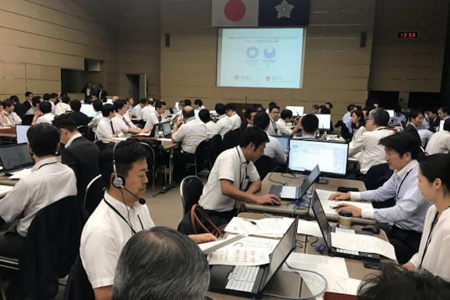 関係機関は東京五輪・パラリンピックでのサイバー攻撃を想定した訓練を重ねている